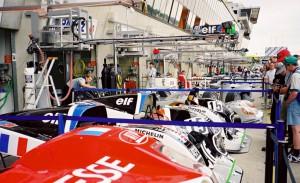 Le Mans Boxengasse
