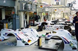 Le Mans Pits: Porsche LMP1/98