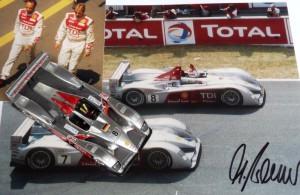 Erster Le Mans-Sieg eines Diesel-Fahrzeugs: Audi R10 TDI, Le Mans 2006 (Modell: Spark)