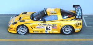 Corvette C5R, Le Mans 2004 (Modell: IXO)