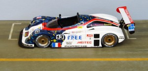 In Le Mans knapp geschlagen: Courage Porsche C34 (Starter)