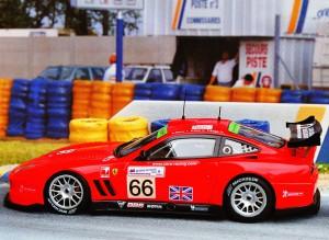Ferrari 550 Maranello, Le Mans 2004 (Red Line)