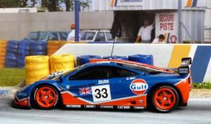 Schnellster McLaren BMW F1 1996, hier in Le Mans (Minichamps):