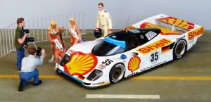 Platz 3 in Le Mans: Porsche 962 GT (Provence Moulage)