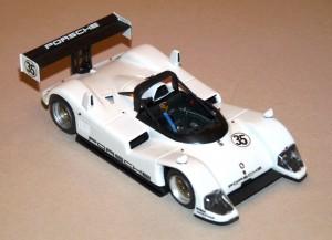 Porsches WSC-Werkswagen für Daytona - Testversion (Modell: Einzelstück von PL)