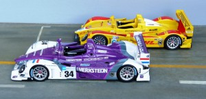 Porsche RS Spyder: Petit Le Mans 2007 (Penske - Modell: Minichamps), Le Mans 2008 (Merkstein - Spark)