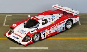 In Le Mans lange in Führung, am Ende Platz 2: Toyota 94 CV (Starter)
