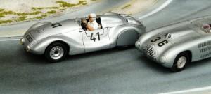 Petermax Müller VW Spezial 1949, 1:43-Modell in Eigenbau von Louis Models