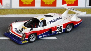 Cougar Ford C01, Le Mans 1982, Modell: DAM