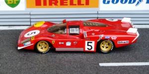 Le Mans 1970: Ferrari 512S Langheck (Hostaro)