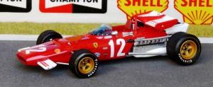 Formel 1-Saison 1970: Vize-Weltmeister mit dem neuen Ferrari 312 B (Modell: IXO)