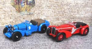 Alfa Romeo 8C 2300, Siege in Le Mans 1932 und 1934 (Modelle: IXO)