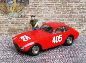 Ferrari 340 America, Mille miglia 1951 (Sieger), Modell: BBR
