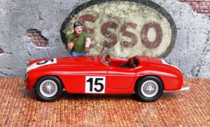 Ferrari 340 America Le Mans 1951, Modell: Tron