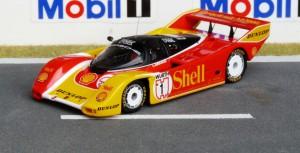 Porsche 962C, Nürnberg 1988 (Supercup), 2. Platz, H.-J. Stuck, Modell: Spark