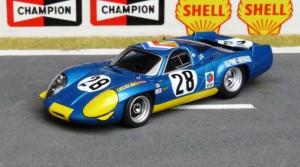 Alpine Renault A 220/69 Le Mans 1969 (Spark)