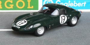 "Jaguar E ""Low Drag Coupé"" Le Mans 1964 (Spark)"