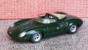 Jaguar XJ 13 (Mini Auto made by John Day)