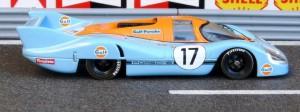 Le Mans 1971: Porsche 917 Langheck, Bell und Siffert (Modell: Minichamps)