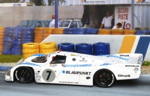Le Mans 1990: 4. Platz mit dem Joest Porsc he 962C (Modell: Spark), Copiloten: Stuck und Jelinski
