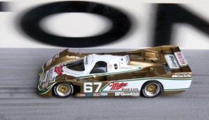 Sieg in Daytona 1989: Porsche 962 IMSA (Modell: Spark), Copiloten: John Andretti und Bob Wollek