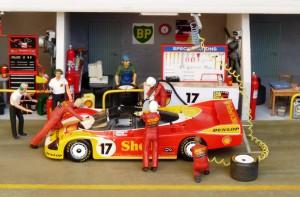 2. Platz in Le Mans 1988: Porsche 962C mit Stuck und Ludwig (Starter)