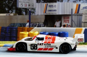 Le Mans 1991: 7. Platz mit dem Joest Porsche 962C (Modell: Spark), Copiloten: Stuck und Jelinski