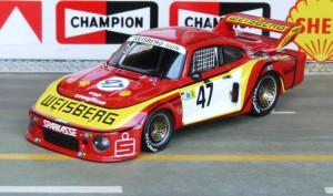 Porsche 935/77 Team Gelo, Le Mans 1978 (Hezemans, Fitzpatrick, Ausfall), Modell: Spark