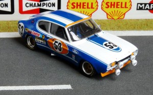 Ford Capri RS, Le Mans 1972 (Modell: Trofeu)