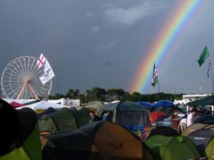 Le Mans 2013: Wetterlaunen über Camping Bleu Nord