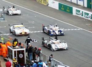 Le Mans 2013, Sonntag 15 Uhr - am Ziel