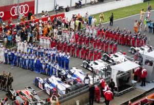 Le Mans 2013, Samstag 14.30 Die Teams präsentieren sich