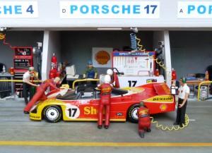 Porsche 962 C (Werk), Le Mans 1988, 2. Platz (Modell: Starter)
