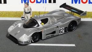 Sauber-Mercedes C9/89, Jarama 1989, Sieger Mass-Schlesser (Max Models)x