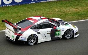 Le Mans 2013: Startaufstellung, Porsche 991 RSR