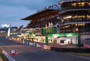 Le Mans 2013, Abendstimmung