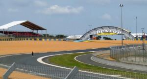 Le Mans 2013 - Dienstag: Blick auf die Dunlop-Schikane