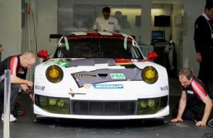 Le Mans 2013, Dienstag, Pit Walk: Der neue Porsche 991 RSR