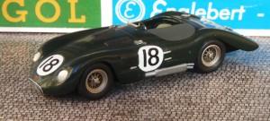 Jaguar C Le Mans 1952, Modell: John Day (Mini Auto)
