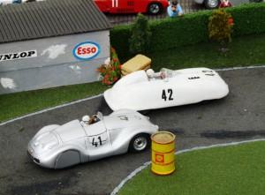 Vorster-AFM 1100 zusammen mit dem Petermax Müller VW Spezial (beides Einzelstücke von Louis Models)
