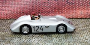 Veritas Meteor (Fahrer Karl Kling), dieses war ein Mittellenker (Monoposto), also ein Formel 2-Veritas (Modell: Bausatz von Kaiser)