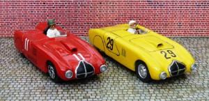Veritas RS, Fahrer Walter Glöckler und H. Jäger (Einzelstücke von Louis Models)
