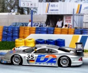 Mercedes-Benz CLK-LM, Le Mans 1998 (Modell: Spark)