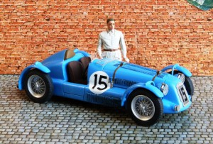 Delage D6-3L Le Mans 1949 (2. Platz), Modell: GCAM (Resine-Bausatz)