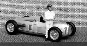 Auto Union Typ A, Großer Preis von Deutschland 1934 (Stuck), Modell: Minichamps, als SW-Aufnahme