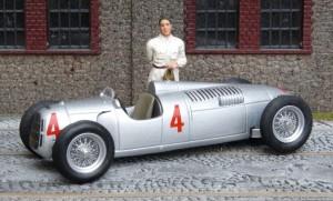 Auto Union Typ C, Großer Preis von Deutschland 1936 (Rosemeyer) (Modell: IXO)