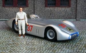 """Mercedes-Benz W25 """"Avus"""" (Avus 1937, Lang) (Modell: Danhausen)"""