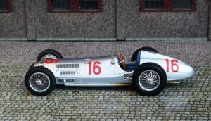 Mercedes-Benz W154 (Großer Preis von Deutschland 1938, Seaman) (Modell: Spark)