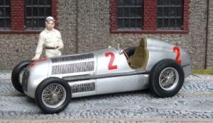 Mercedes-Benz W25, Grand Prix Frankreich 1935 (Caracciola) (Modell: John Day)