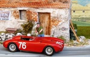 Lancia D24, Sieger Targa Florio 1954 (Taruffi), John Day-Metallbausatz